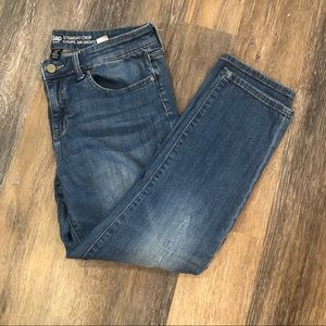 Gap Straight Crop Jeans 6 28A Distressed